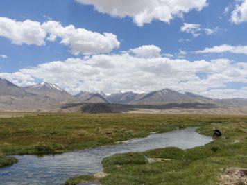 Fluss Natur Nomaden