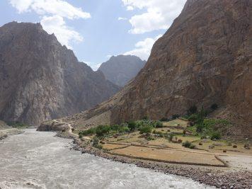 Grenze Afghanistan Tadschikistan