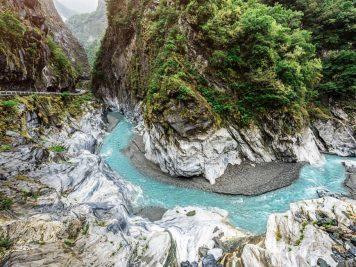 Fluss Marmorschlucht