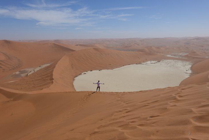 Wüste Namib, Vlei, Düne