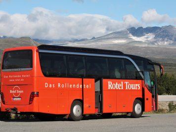 Rotelreise nach Skandinavien