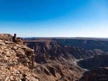 Namibia, Fish river Canyon, Wandern