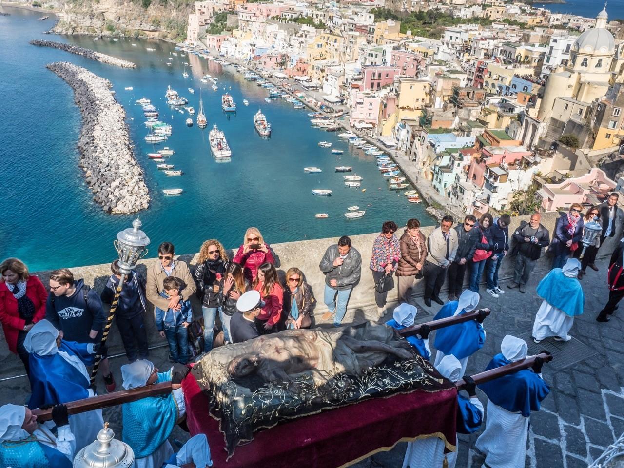 Insel Ischia, Italien, Mittelmeer, Prozession, Rotel Tours