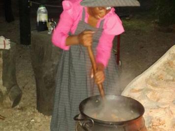 Potjiekos in Namibia